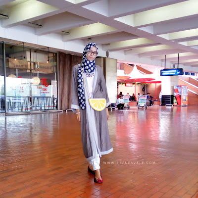 outfit traveling untuk hijabers