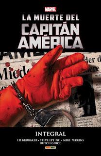 La muerte del Capitán América Integral