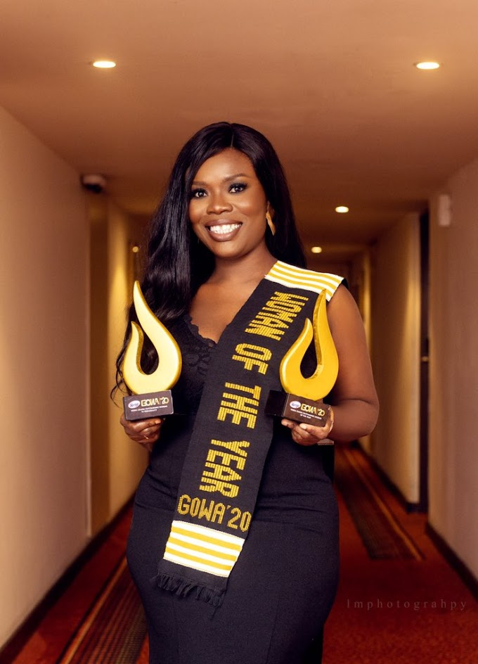 Delay named Woman of the Year at Verna GOWA
