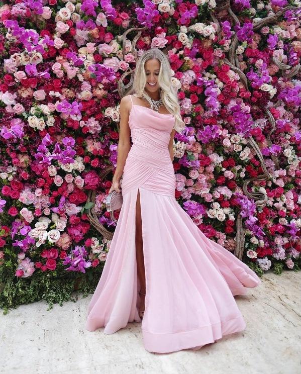 casamento marina ruy barbosa vestido de festa rosa