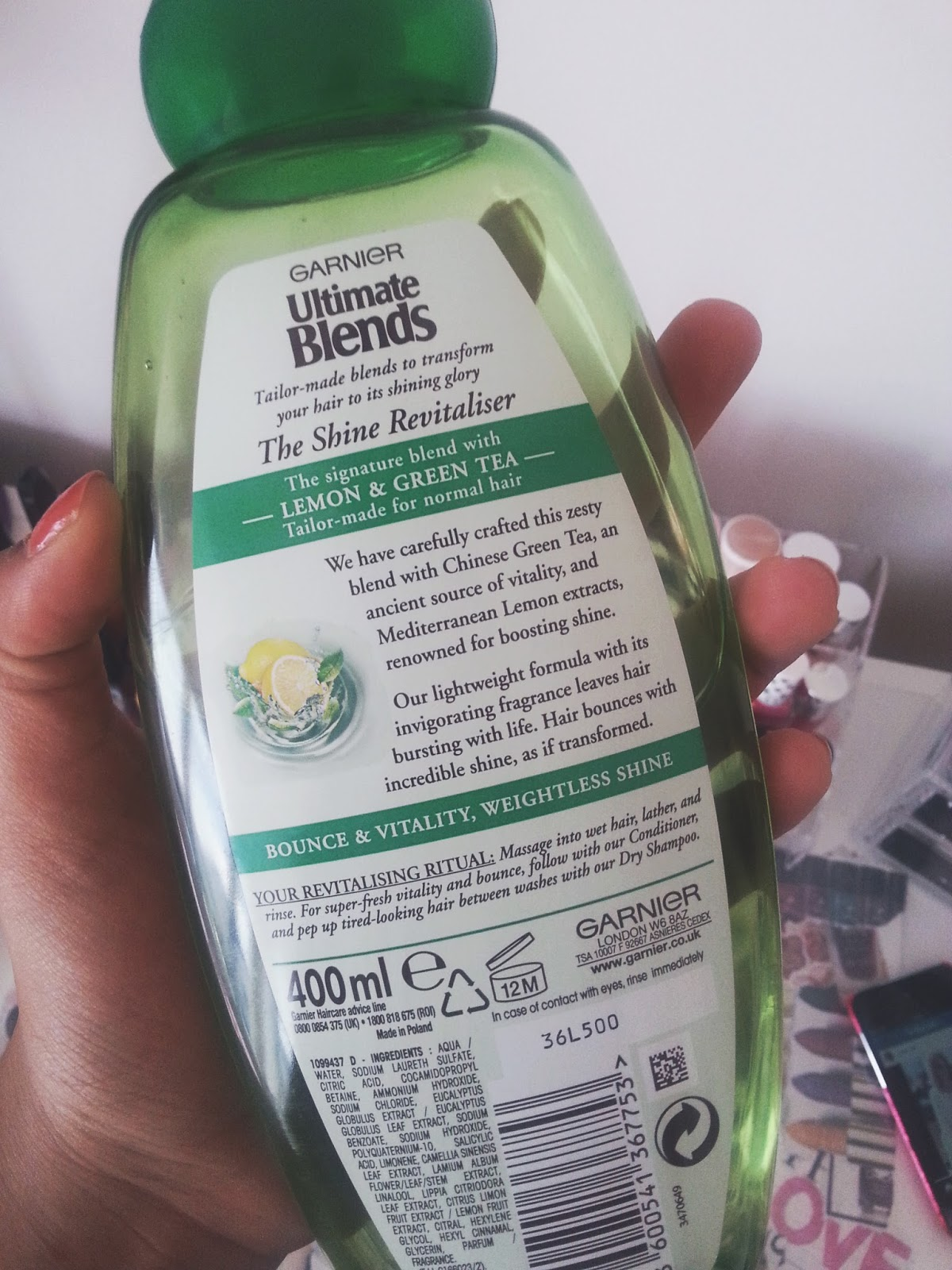 Garnier Ultimate Blends 'The Shine Revitalising Shampoo'
