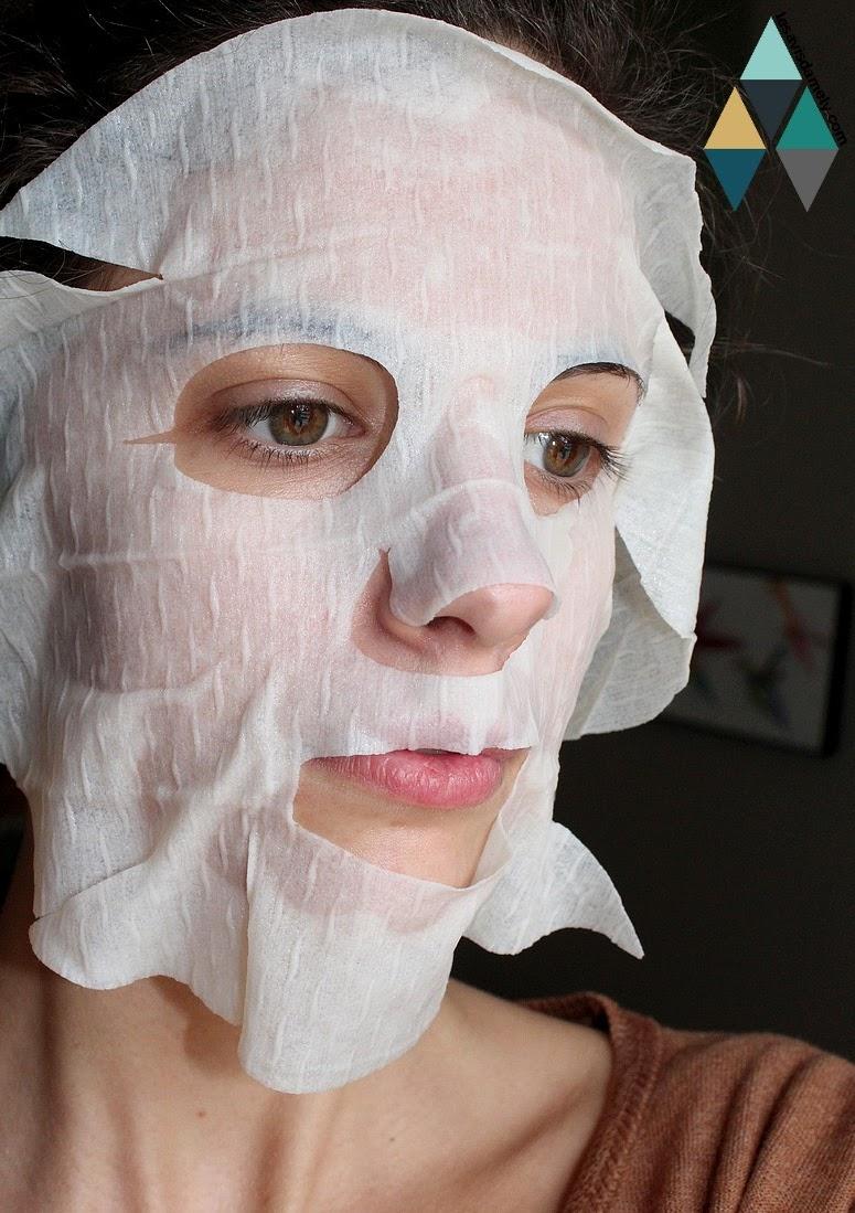 test masque visage Sephora ginseng