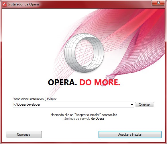 Instalador de Opera portable - El Blog de HiiARA