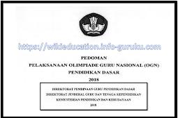 Download Pedoman OGN Nasional Tahun 2018