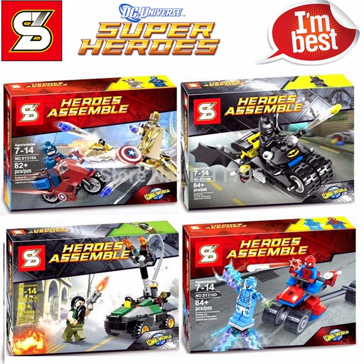 Brick Toys And All Sorts Sy210 Heroes Assemble-8637