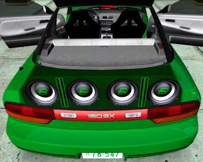 alto-falante dd verde para gta sa zmodeler modelo