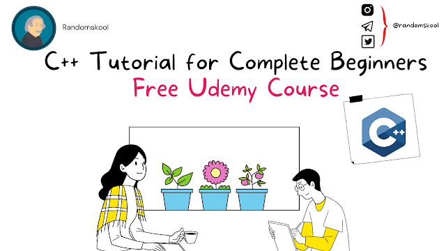 Free Course | C++ Tutorial for Complete Beginners | Udemy
