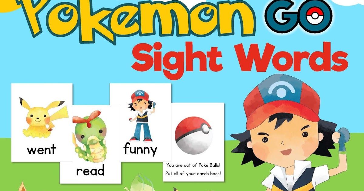 photograph relating to Pokemon Binder Cover Printable named Pokemon Move Sight Words and phrases Online games! Mrs. Gilchrists Cl