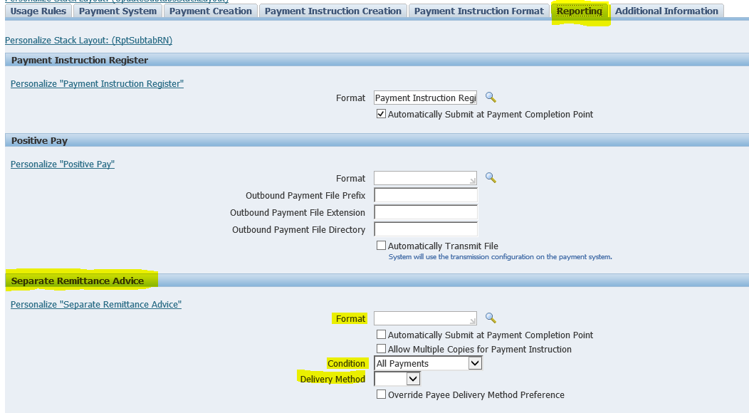 Oracle Application's Blog: How to send Payment Remittance