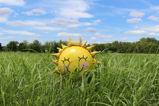 Sunshine balloon photo by Laura Pratt