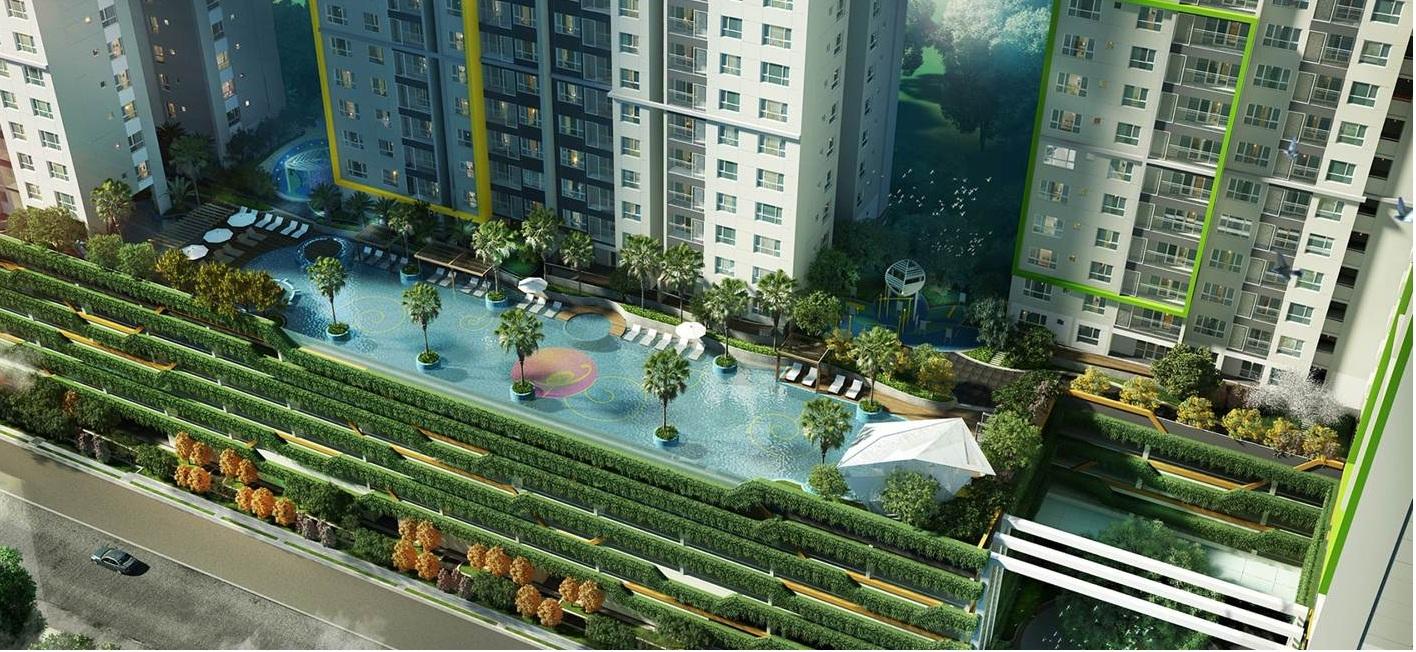 Bể bơi Skypool tại Booyoung Vina
