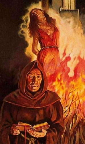 Europe for centuries burned innocent and the best people in the fire.