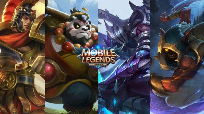Para começar, que tal um wallpaper com quatro icônicos personagens do mobile legends?