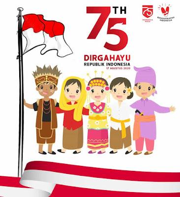 gambar ucapan hut ri 75 indonesia