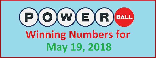 PowerBall Winning Numbers for Saturday, 19 May 2018