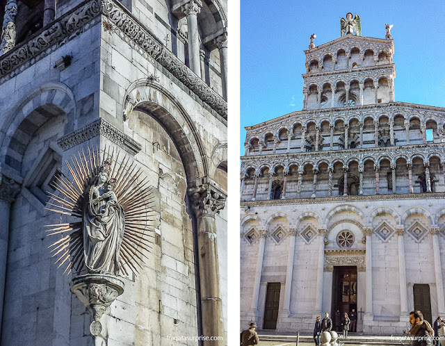 Igreja de San Michele in Foro, Lucca, Toscana, Itália