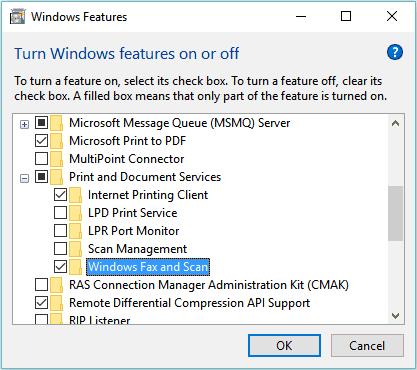 nonaktifkan fitur tidak penting di windows