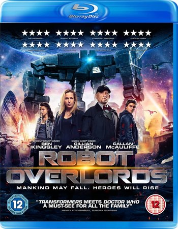 Robot Overlords (2014) Dual Audio Hindi 480p BluRay x264 300MB ESubs Full Movie Download