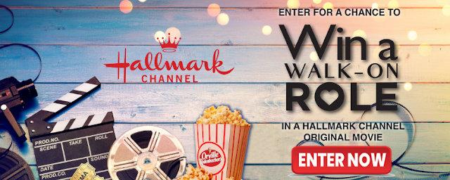 Enter for a chance to win a vacation complete with a walk-on role in an original Hallmark Channel movie AND Orville Redenbacher's popcorn for a whole year!