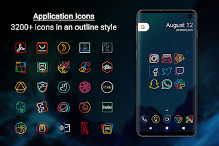 Outline Icons 2.0 – Icon Pack v2.01 [Patched] APK