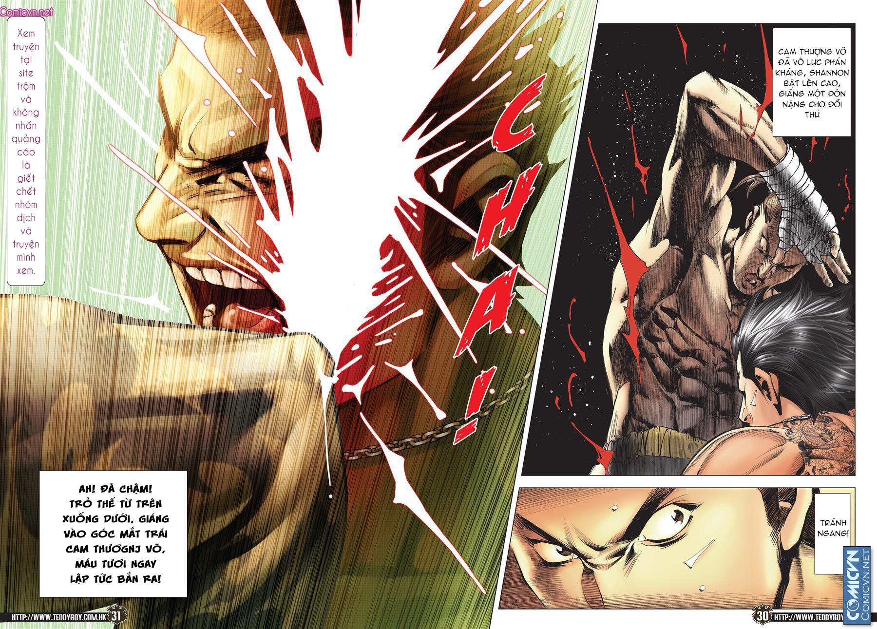 Người Trong Giang Hồ chapter 2143: ác chiến vua muay thai trang 28