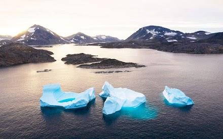 Ρεκόρ τήξης πάγων στη Γροιλανδία