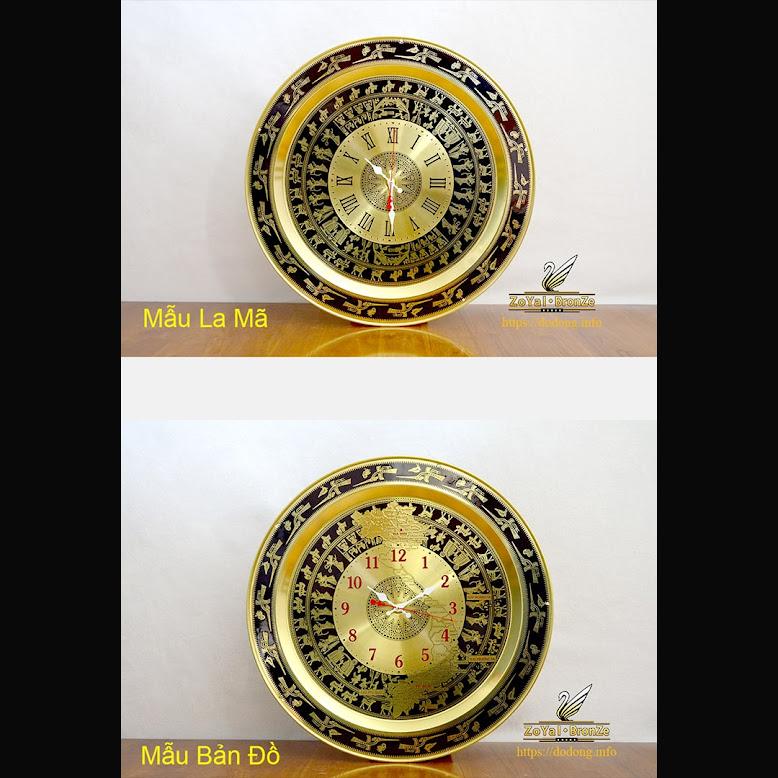 [A117] 5 mẫu trống đồng treo tường hợp phong thủy cho phòng làm việc