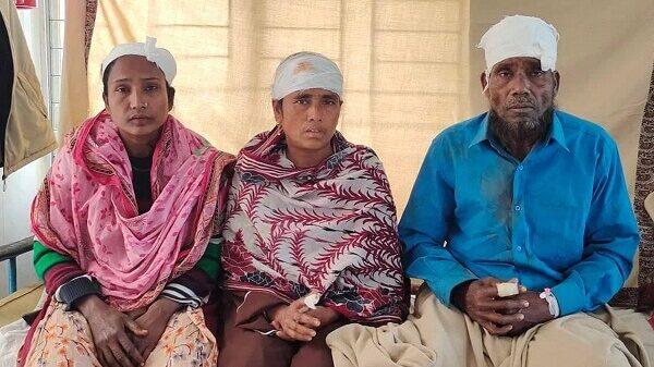 মুলাদীতে সন্ত্রাসী হামলায় একই পরিবারের ৬ জন আহত