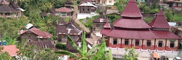 Salah satu desa terindah didunia ada di Sumatera Barat