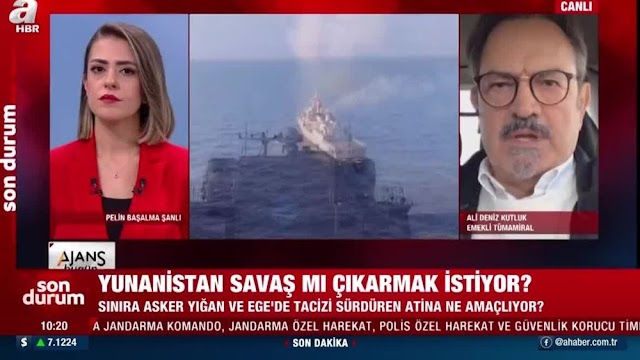 """Τουρκικά ΜΜΕ: """"Η Ελλάδα θέλει πόλεμο; Οι πιλότοι της έχουν μεγαλώσει με έχθρα για την Τουρκία"""""""