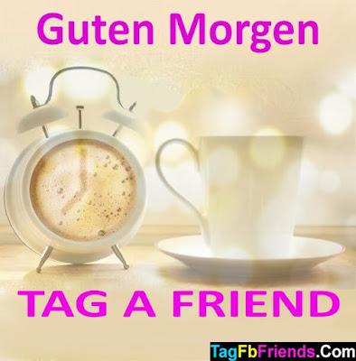 Good morning in German language