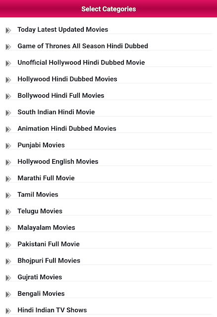 Afilmywap Download Mobile Hindi South Indian MP4 Dubbed Movies Bollywood Movie  Tamil Movie  Telugu Movie From Elligal Website