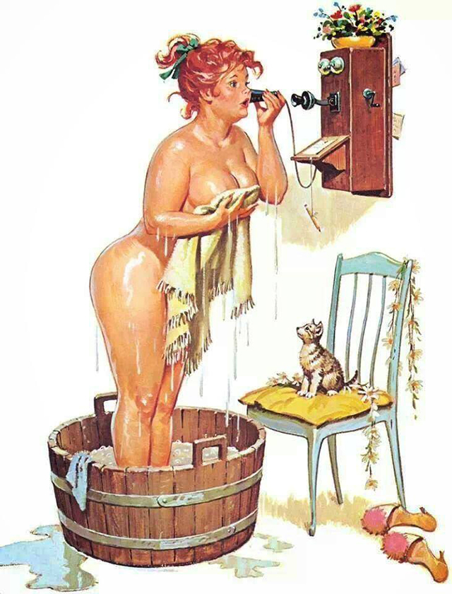 hilda pin-up