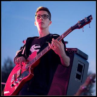Gwenolé bassiste de BogZH Celtic Cats ! Rock 'n' Roll Celtique punk folk