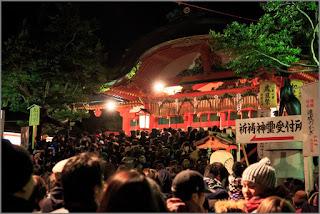 visita templo tradición año nuevo japon