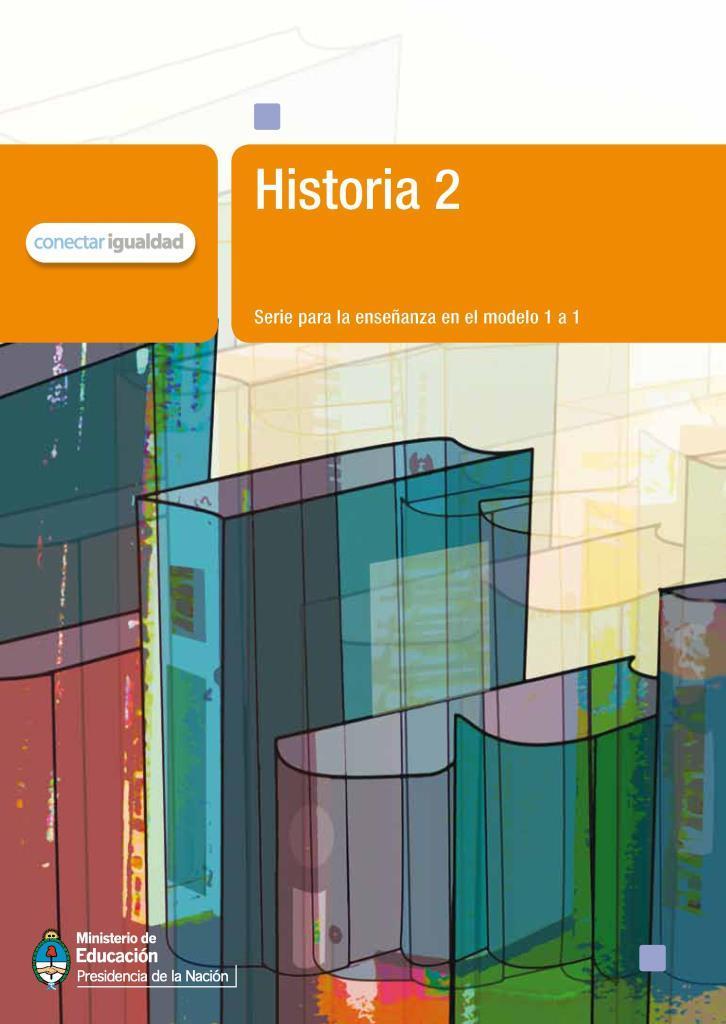 Historia 2: Serie para la enseñanza en el modelo 1 a 1