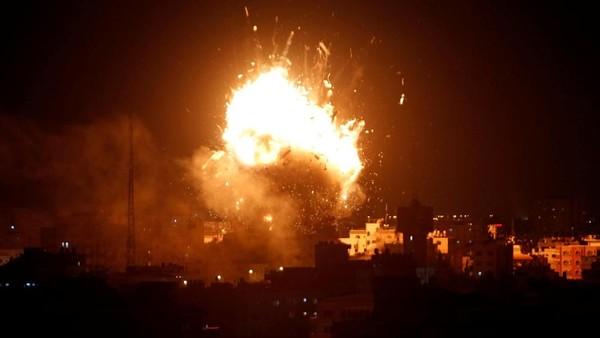 Israel Hancurkan Pos Militer Suriah di Dataran Tinggi Golan