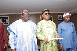 PDP HINT AKPABIO OVERSEAS BEGS HIM NOT TO DEFECTS ON THEIR KNEES- LAWAN