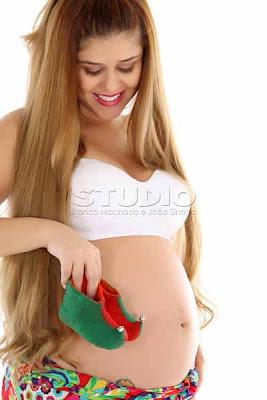 presentes criativos para gravida