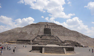 Foto de Teotihuacan, a metrópole de 1500 anos atrás