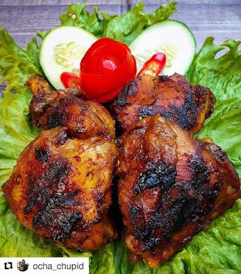 Resep Olahan Ayam - Ayam Bakar Kecap