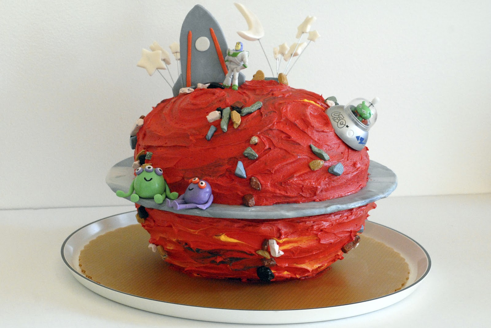 Mars Planet Cake - Pics about space