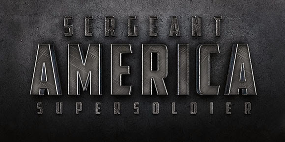 Cinematic Sergeant America Text Effect