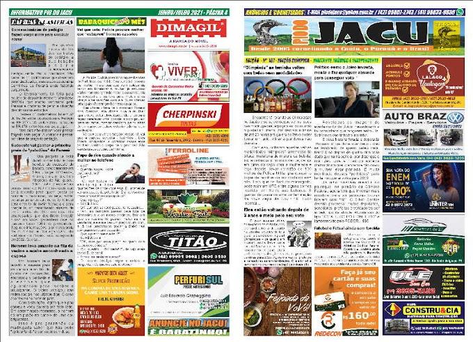 Leia na íntegra a edição 187 de agosto do Informativo Pio do Jacu