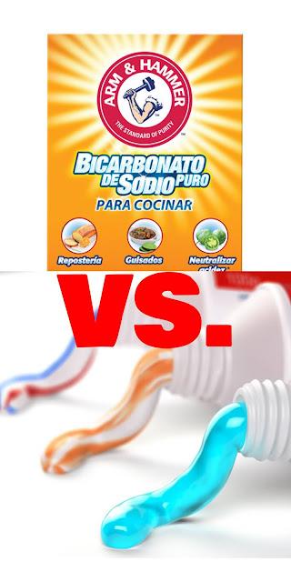 Bicarbonato vs Pasta dental, ¿qué es mejor?