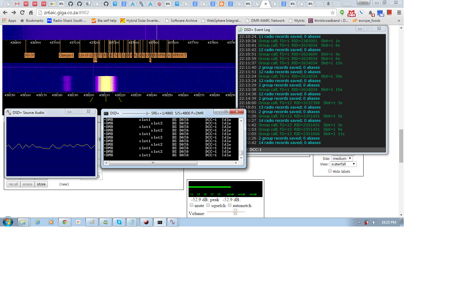 ZR6AIC: Decoding DMR (mototurbo) from webSDR http://zr6aic
