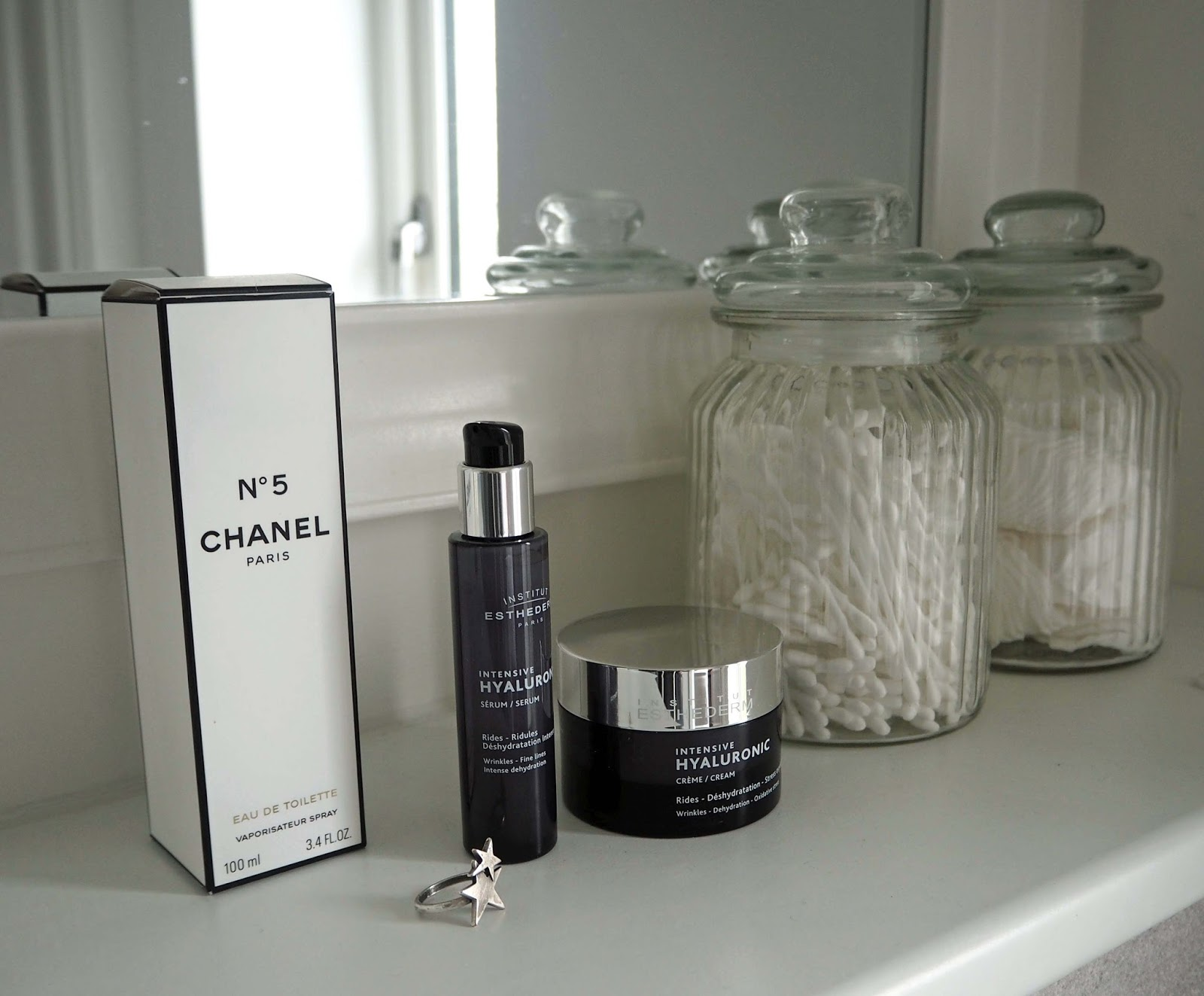 Esthederm creme and serum review, over 40 blog