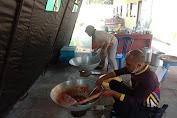 Puluhan Siswa Di Mrebet Jalani Isolasi Terpusat, Polres Purbalingga Dirikan Dapur Umum