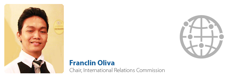 Franclin Oliva, IYF Chair of International Relations Commission