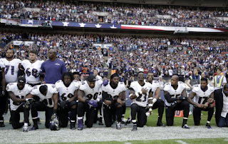 The Latest: Seahawks and Titans won't come out for anthem